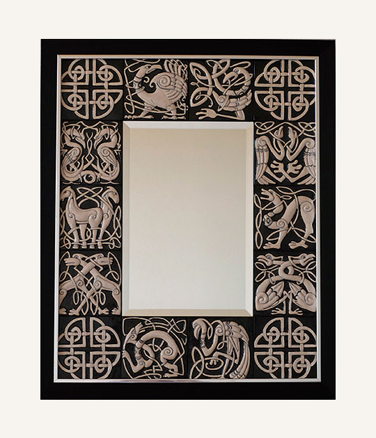 Ярославское зеркало с изразцами - Кельсткое